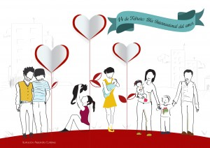 14 de febrero: Día internacional del amor. Nuevas parejas, nuevas familias y nuevas formas de entendernos.