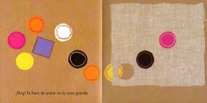 """Foto cuento """"por cuatro esquinitas de nada"""" de Jérôme Ruillier . Cuento educativo que trata de la amistad."""
