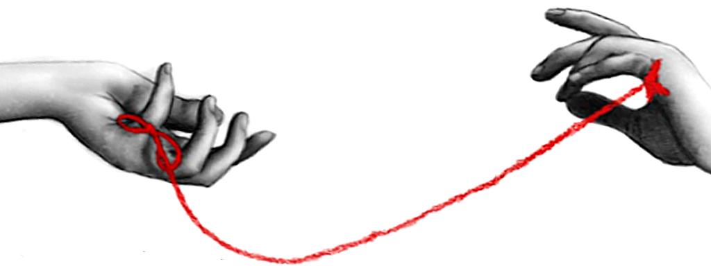 """Ejercicio para parejas """"El hilo rojo"""""""